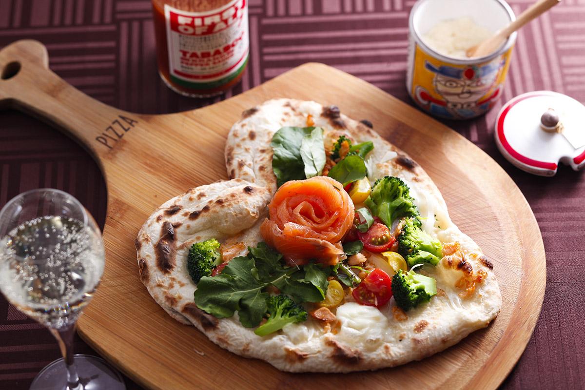 pizza「ciliegio(シリエージョ)」(桜)は1900円、1日20食限定