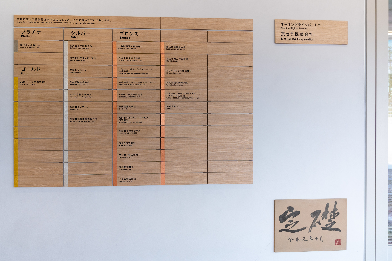 京都市京セラ美術館法人メンバー