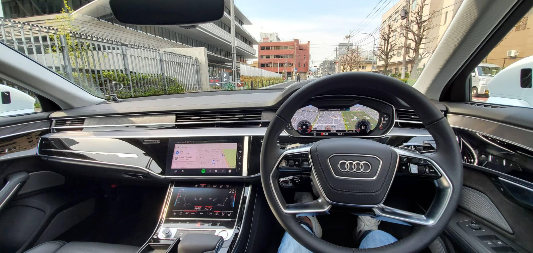 Audi A8インパネ