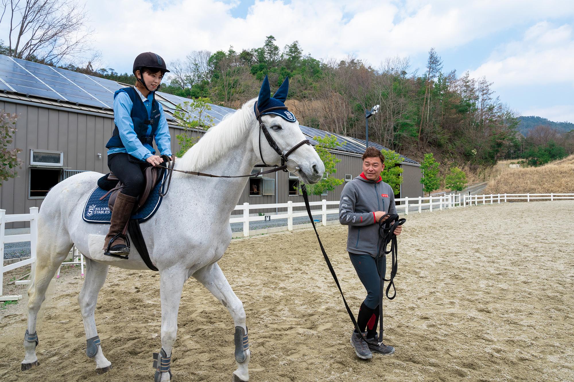 シルヴァーノ ステーブルス体験乗馬