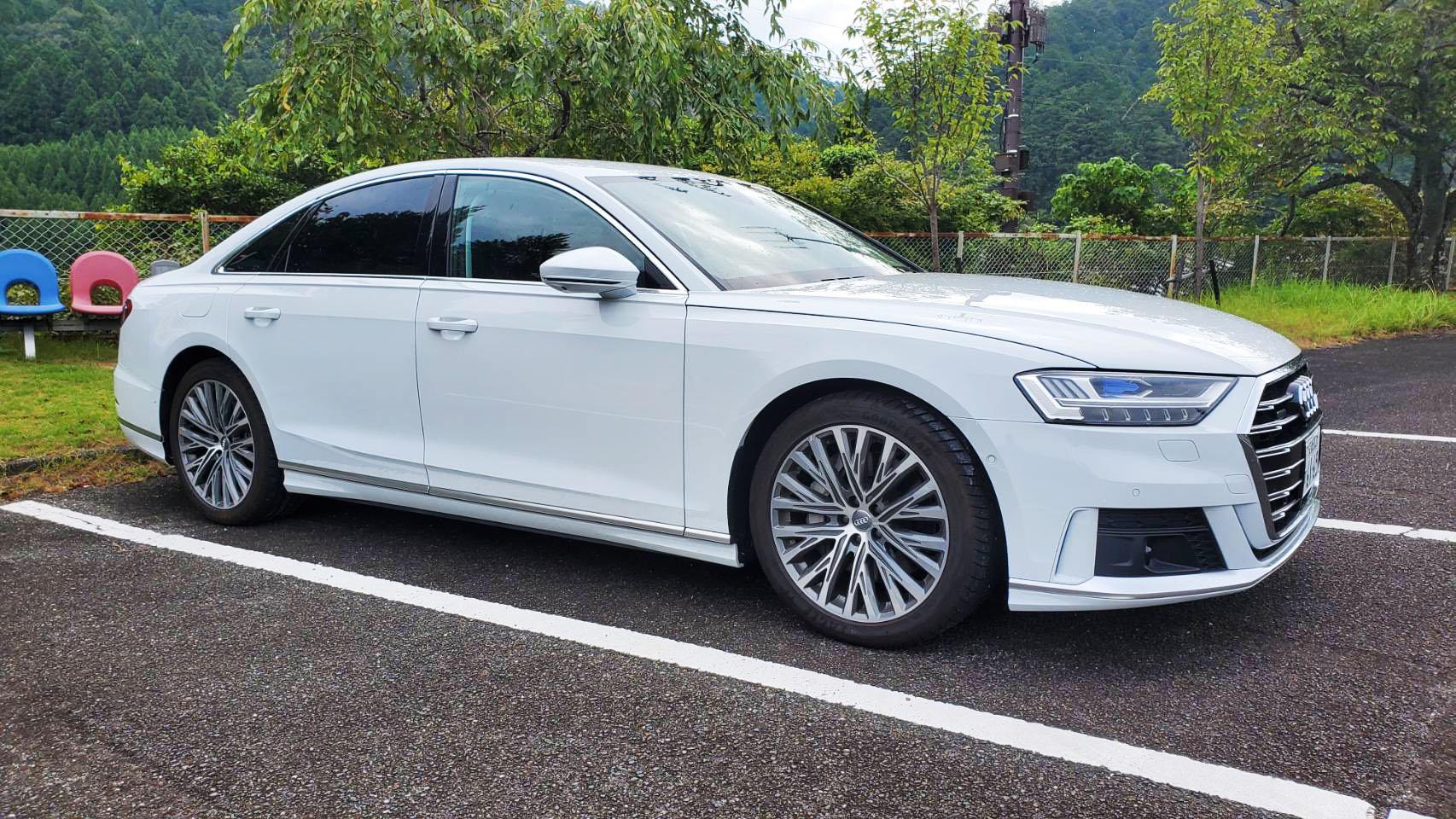 Audi A8 55TFSI quattro テスト第4回