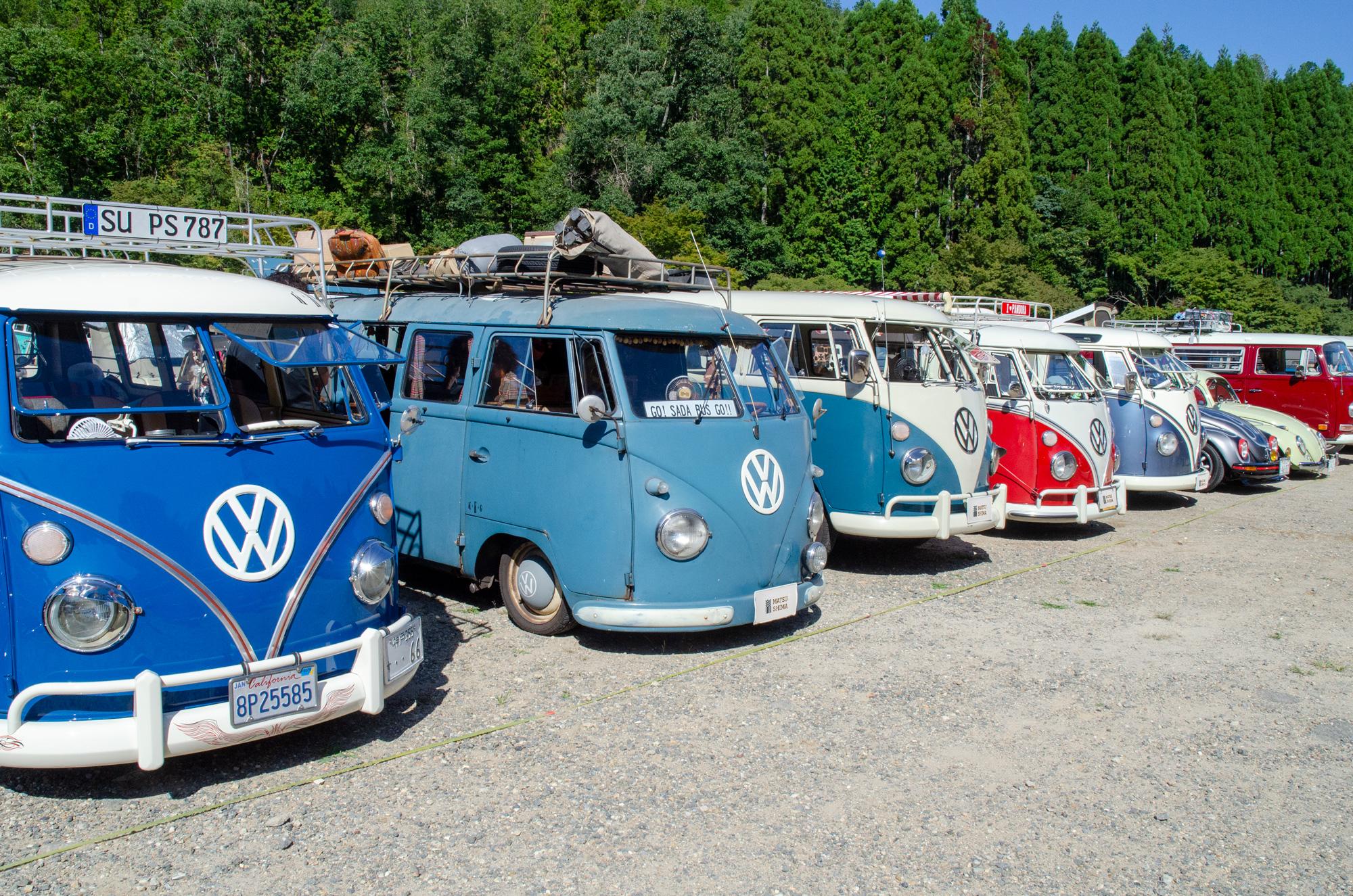 空冷Volkswagenミーティング「21th VW AUTUMN」タイプ2