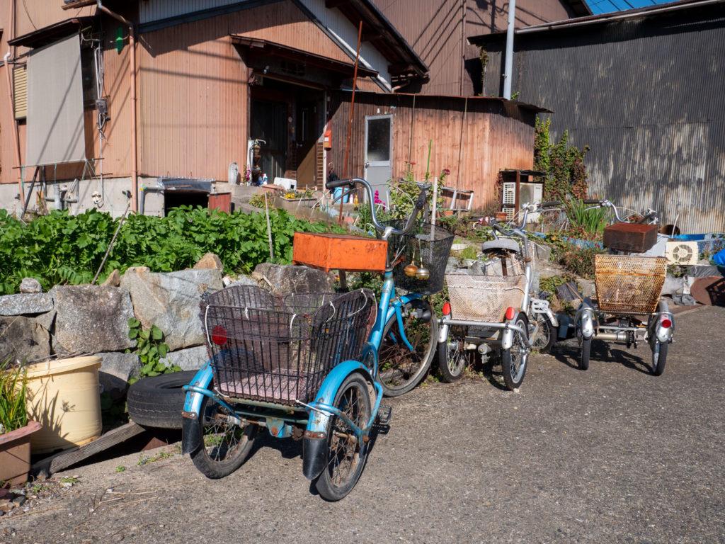 沖島 三輪自転車