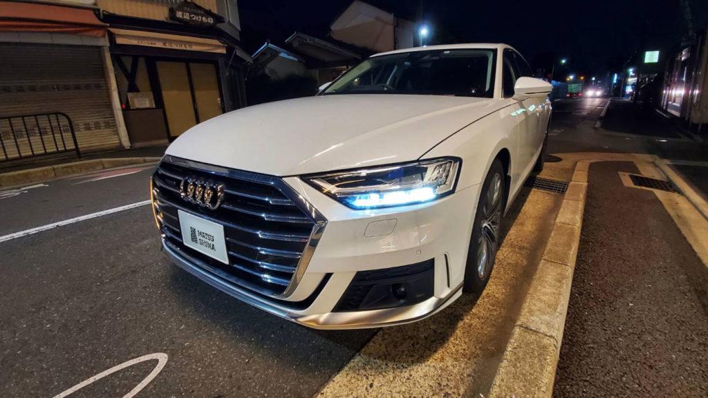 Audi A8 55TFSI quattro