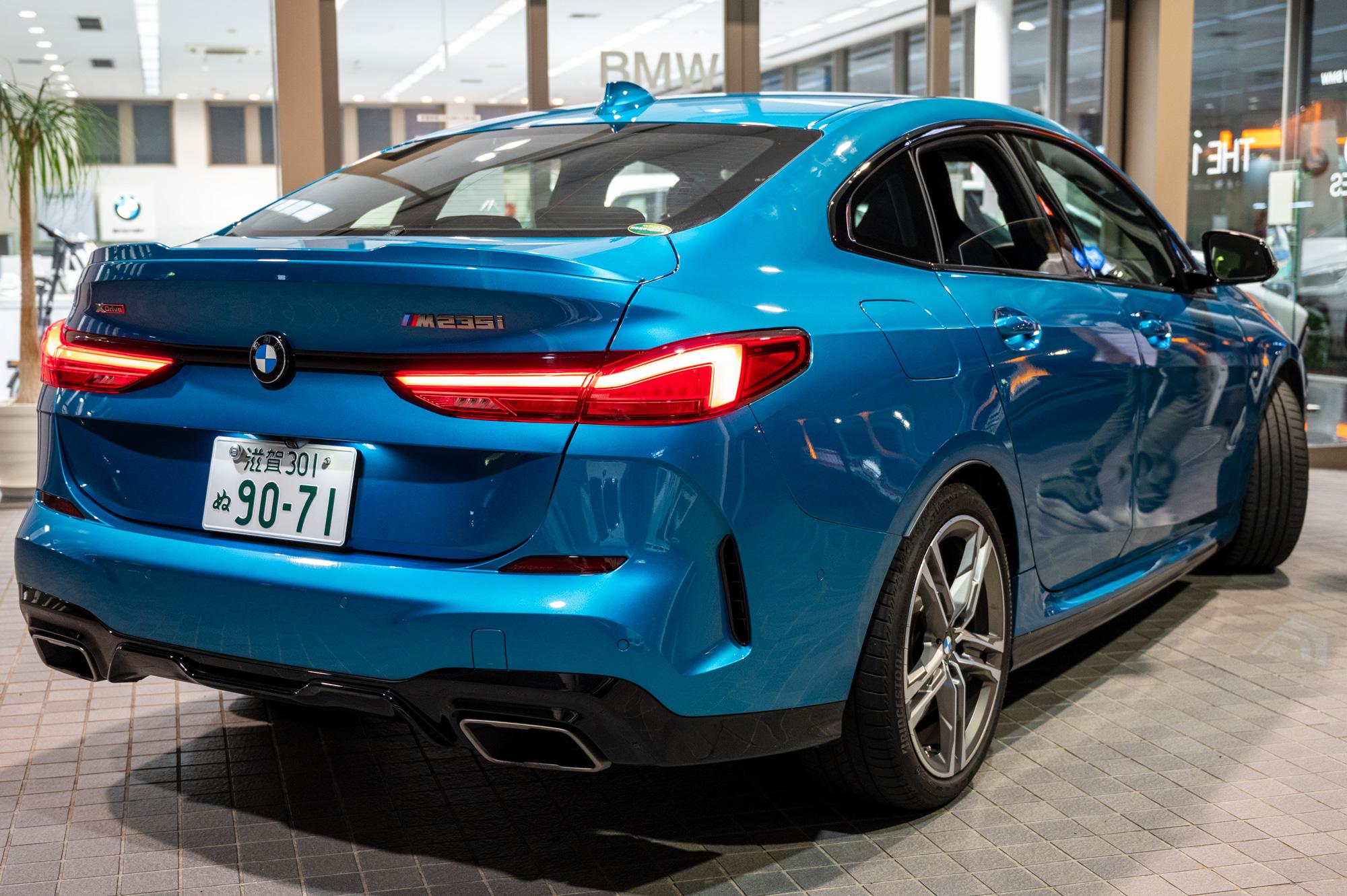 BMW M235i xDrive グランクーペ テールライト
