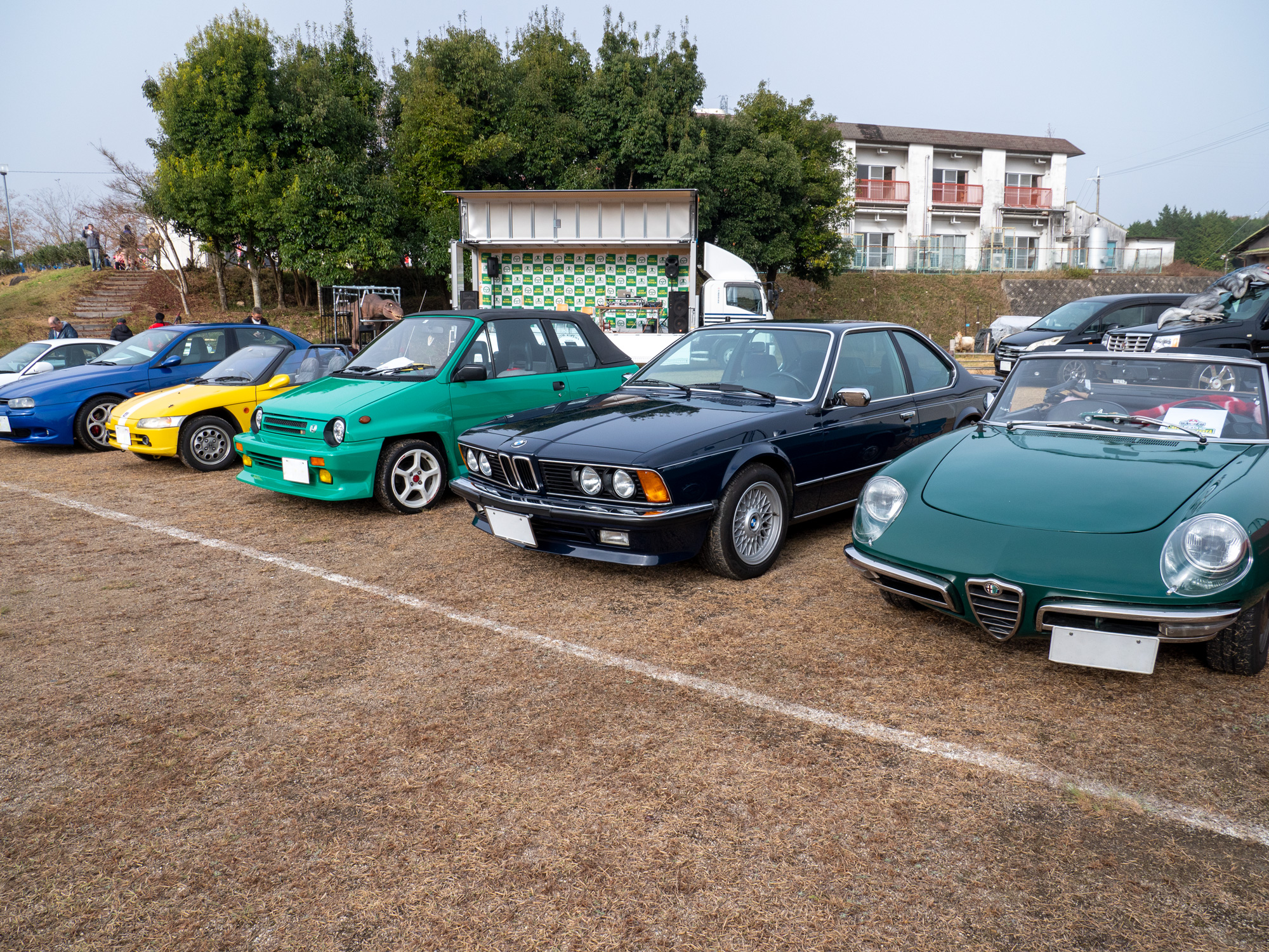 カフェセブンフェスタ BMW635CSi