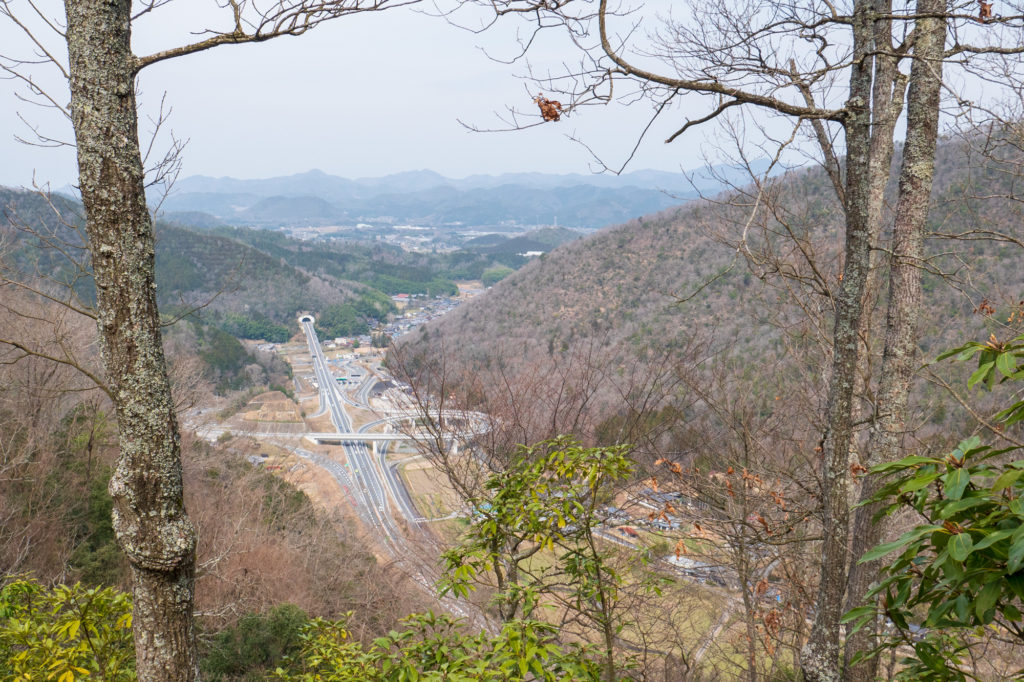 京丹波町 須知城からの眺め