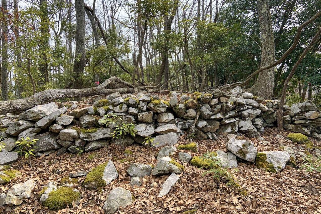 京丹波町 須知城二の郭の石積