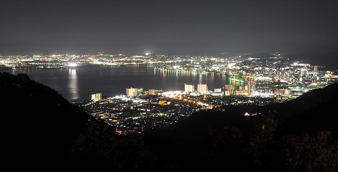 比叡山ドライブウェイ 夜景