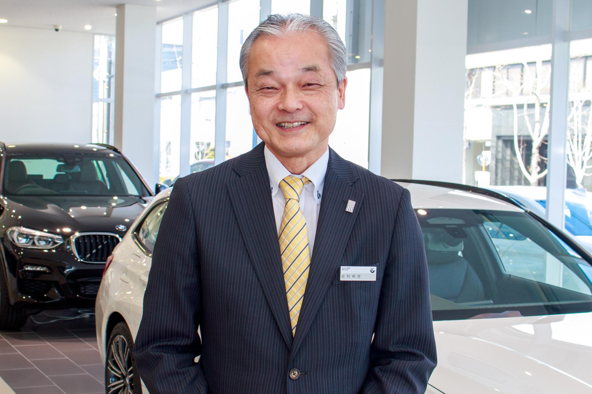 Kyoto BMW京都南店 岩村明彦