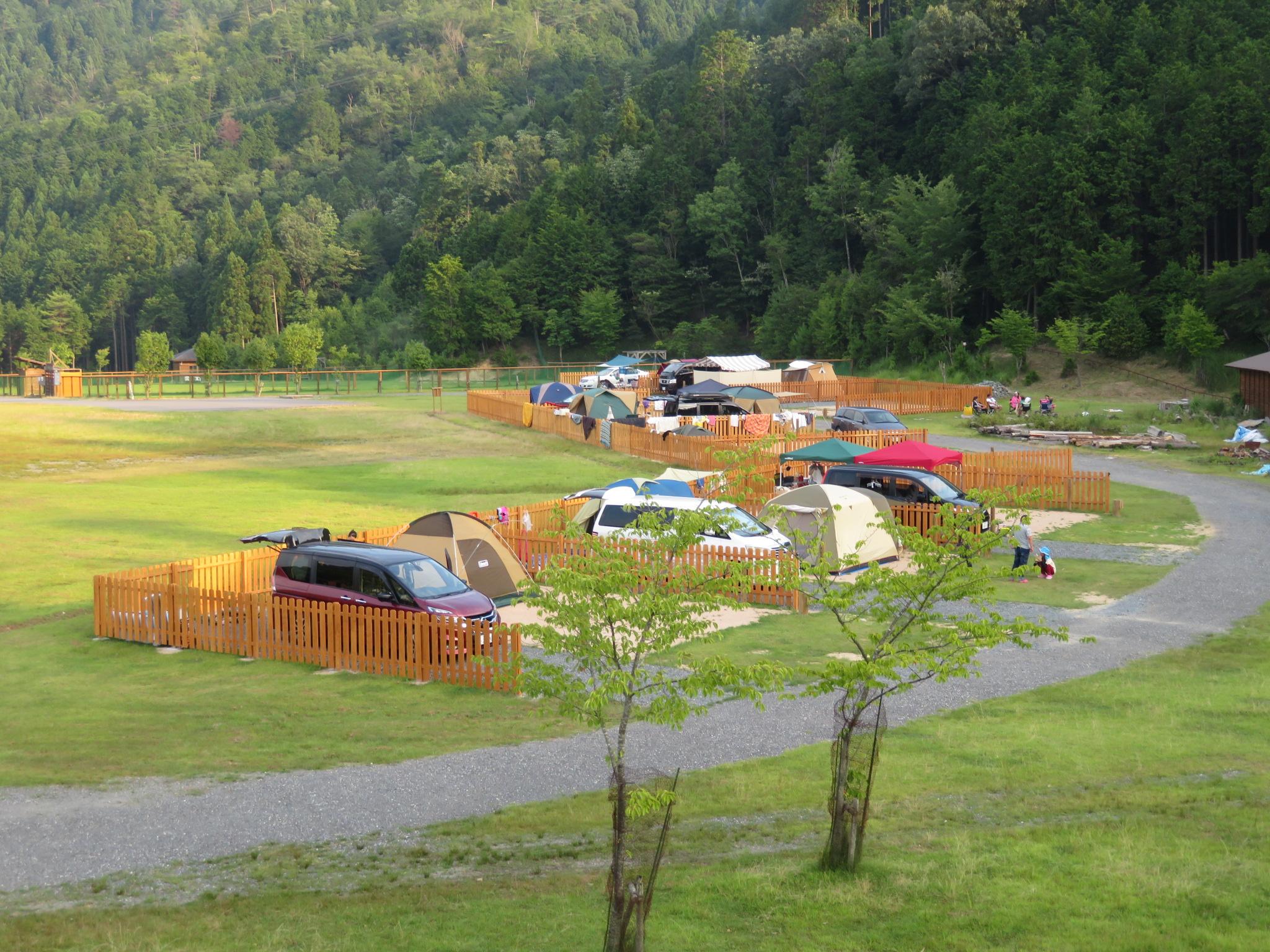 スチールの森 京都 第2キャンプ場