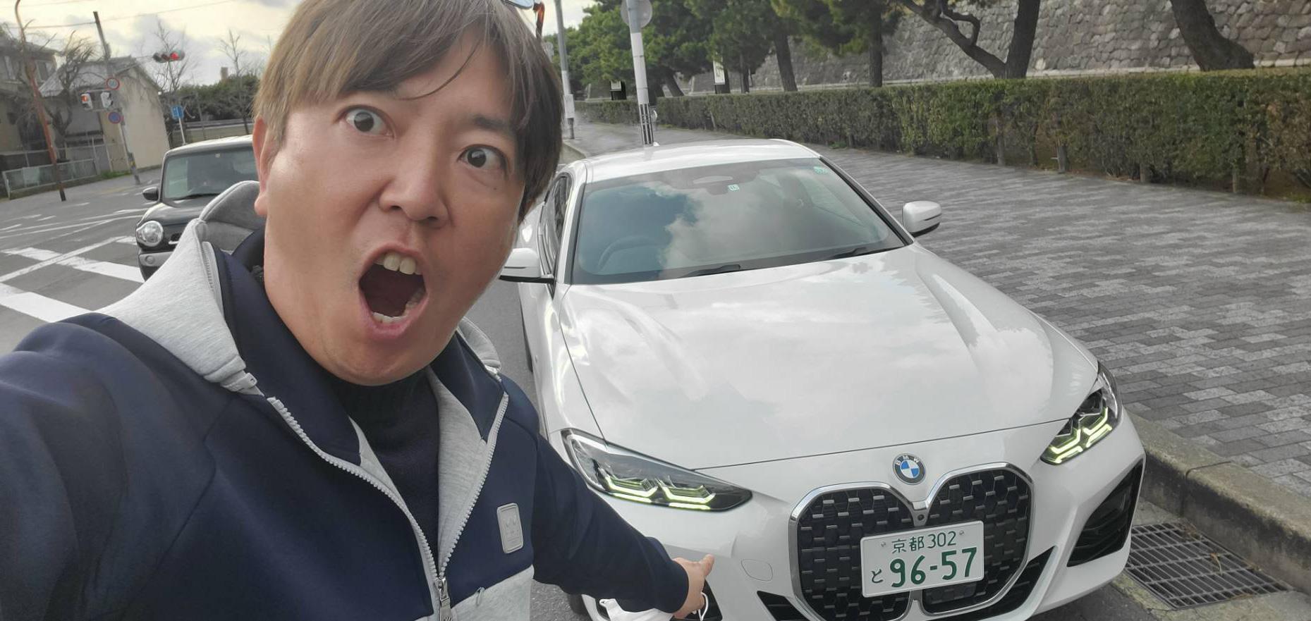 BMW 420i クーペ M Sportと竹内弘一