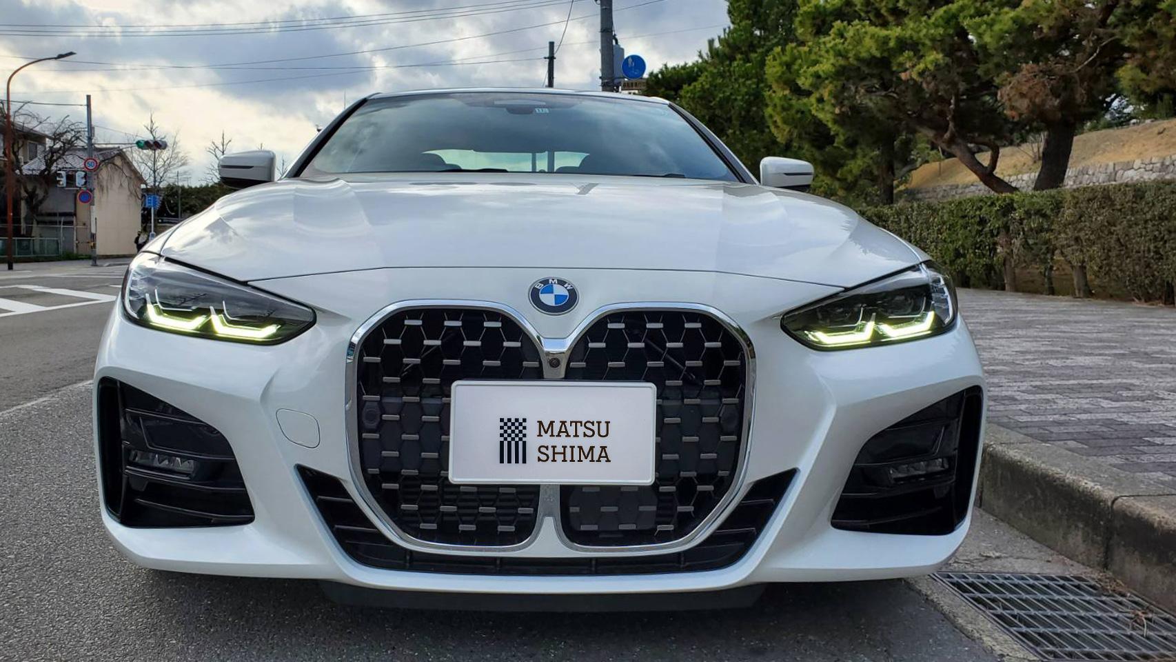 BMW 420i クーペ M Sport キドニーグリル