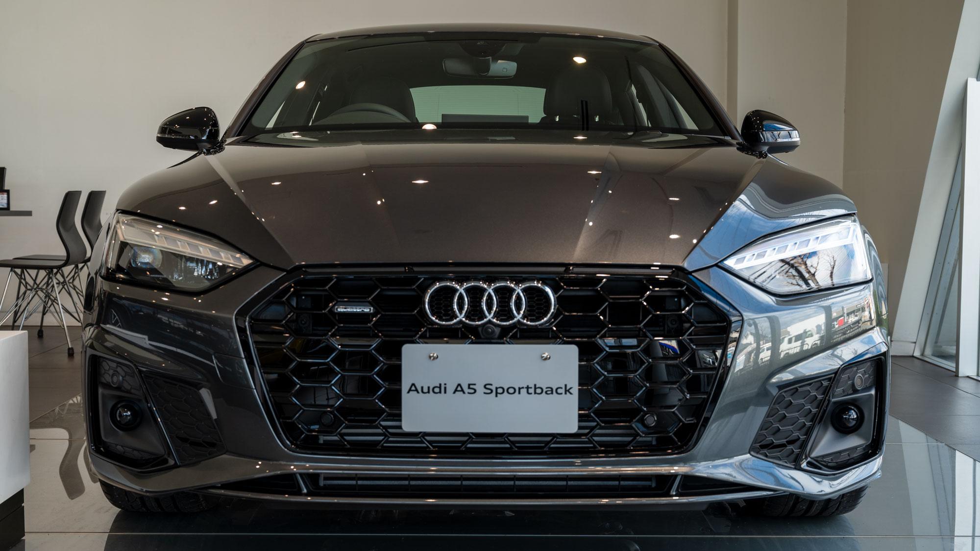 Audi A5 Sportback フロントマスク
