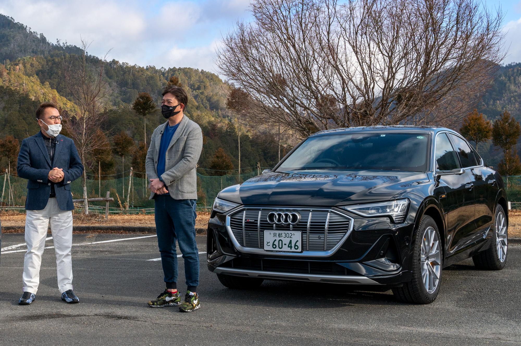 竹内弘一試乗レポ動画【Audi e-tron Sportback 50 quattro 1st edition】