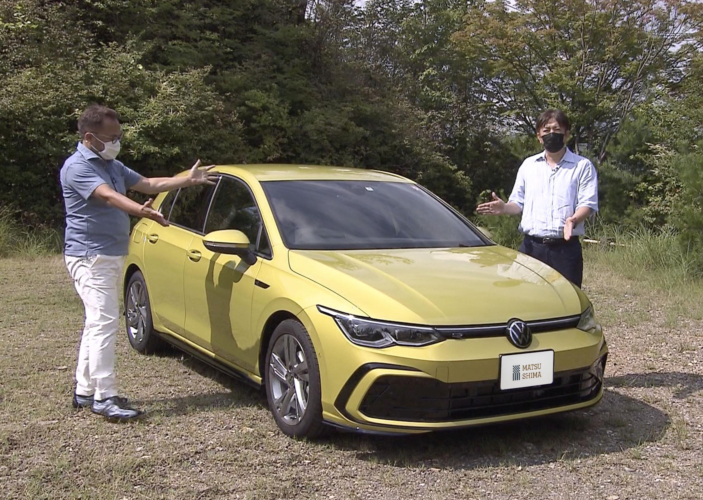 竹内弘一試乗レポ動画 8代目VWゴルフ【Volkswagen Golf eTSI R-Line】