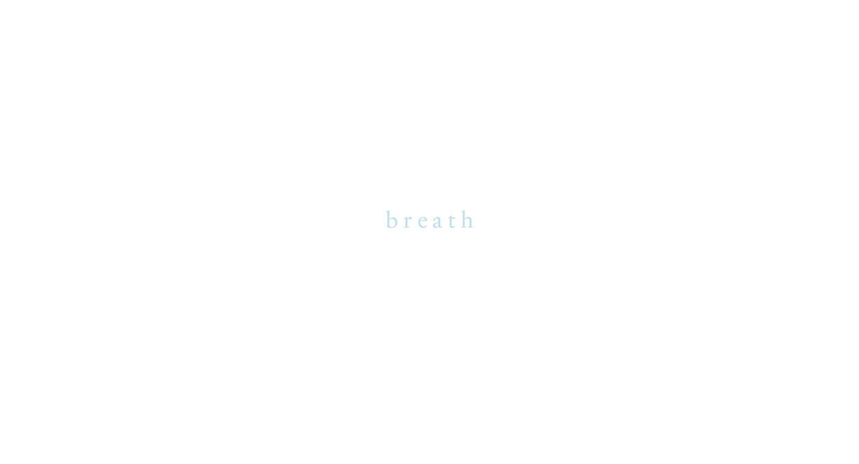 内藤礼の個展「breath」
